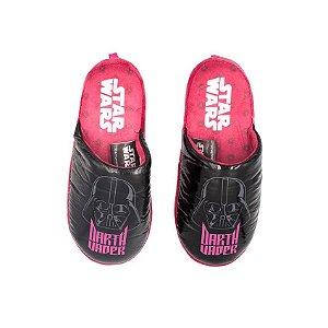 Pantufa Chinelo Feminino Darth Vader