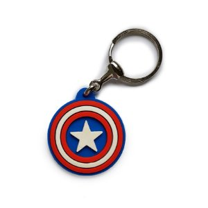 Chaveiro Cute Escudo Capitão América
