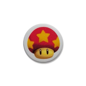 Botton Life Mushroom Mario Bros