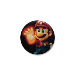 Botton Mario Super Smash Bros