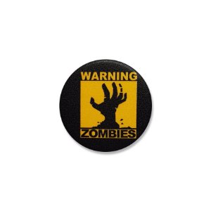 Botton Warning Zombies