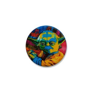 Botton Yoda Pop Art