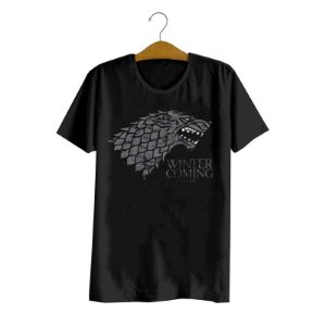 Camiseta Game Of Thrones Stark Logo