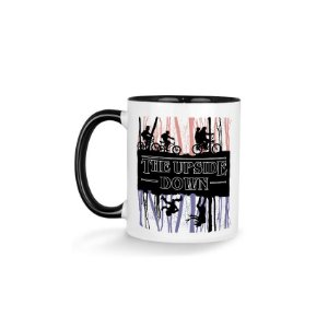 Caneca Stranger Things Upside Down