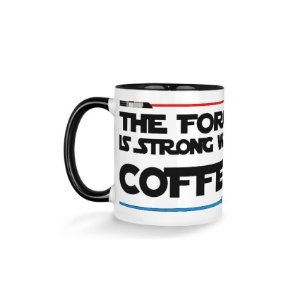 Caneca The Force Coffee