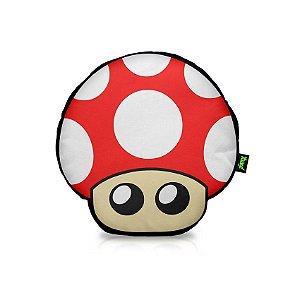 Almofada Redonda Super Mushroom Mario Bros