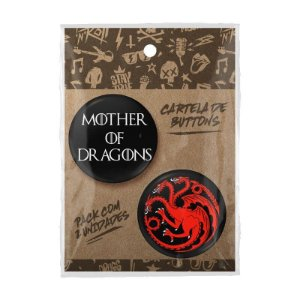 Pack Bottons Targaryen