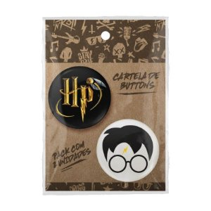 Pack Bottons Harry Potter