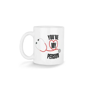 Caneca Greys Anatomy You're My Person