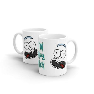Caneca Rick And Morty Mug Rick
