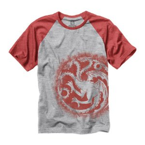 Camiseta Game Of Thrones Targaryen