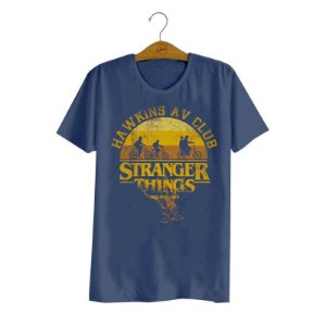 Camiseta Stranger Things Hawkins AV Club