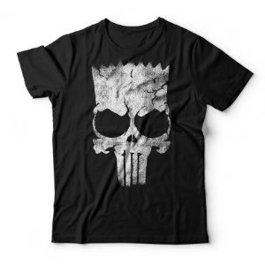 Camiseta Bart Skull