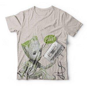 Camiseta Baby Groot Fita