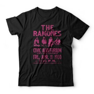 Camiseta Ramones Civic Auditorium