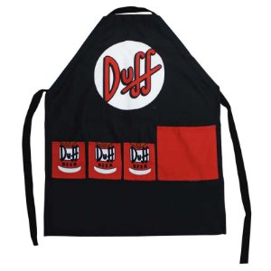 Avental Simpsons Duff Beer