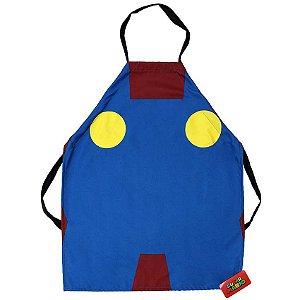 Avental Super Mario Minimalista