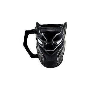 Caneca 3D Pantera Negra