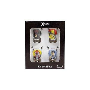 Kit Copos De Shot X-Men