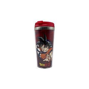 Copo Para Viagem Dragon Ball Goku Rage