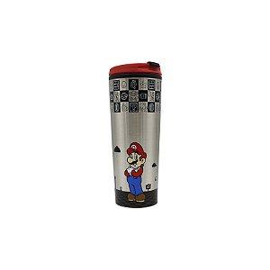 Copo Para Viagem Super Mario Black
