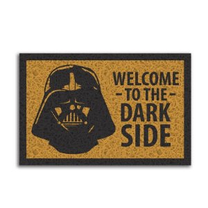 Capacho Vinil Darth Vader Welcome To The Dark Side