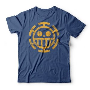 Camiseta One Piece Trafalgar Law Azul