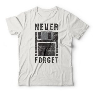 Camiseta Never Forget Branco
