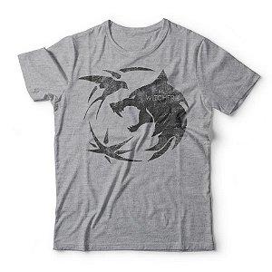 Camiseta The Witcher Logo Cinza