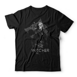 Camiseta The Witcher Cinza