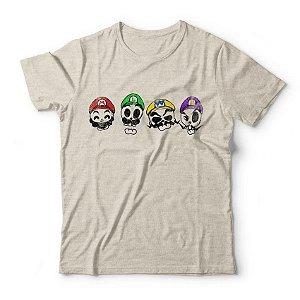 Camiseta Super Mario Skulls