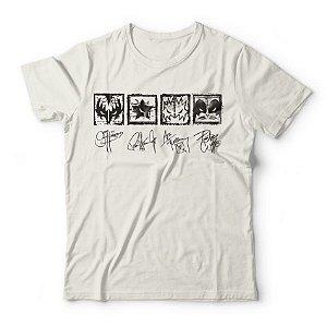 Camiseta Kiss Signatures