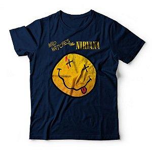 Camiseta Nirvana Who Watches