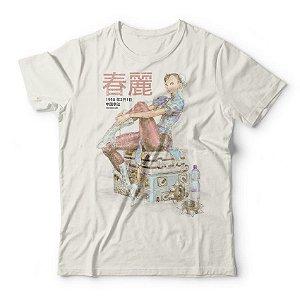 Camiseta Chun-Li Vintage