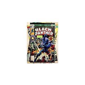 Placa Pantera Negra Comics