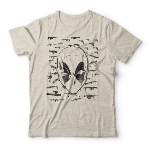 Camiseta Deadpool Guns