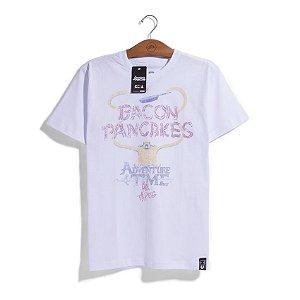 Camiseta Hora de Aventura Bacon Pancakes