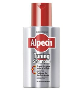 ALPECIN TUNING - Shampoo tonalizante para cabelos brancos e grisalhos - 200 ml