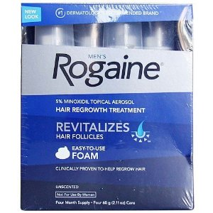 Rogaine Foam - Espuma - Original - 4 unidades.