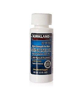 Minoxidil 5% Kirkland Força Extra - Tratamento para 1 mês - Produto original. Sem aplicador conta-gotas
