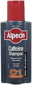 Alpecin Caffeine Shampoo C1 - 250 ml - Original + brinde!