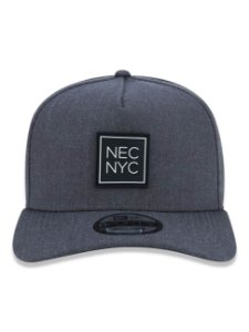 Boné New Era 9Forty A-Frame NEC NYC Cinza Snapback