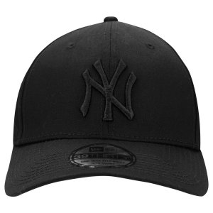 Boné New Era 39Thirty New York Yankees Blackout Aba Curva