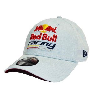 Boné New Era 39Thirty Red Bull Racing Aba Curva