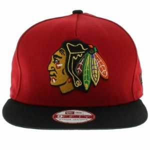 Boné New Era 9Fifty Chicago Blackhawks A-Frame Snapback