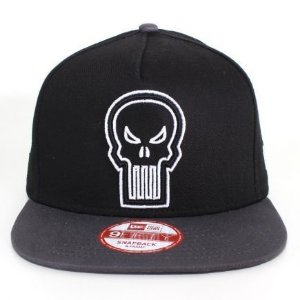 Boné New Era 9fifty A-frame Marvel O Justiceiro - Snapback