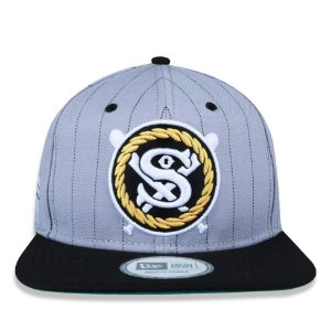 Boné New Era 9Fifty Chance The Rapper Sox Cinza Snapback