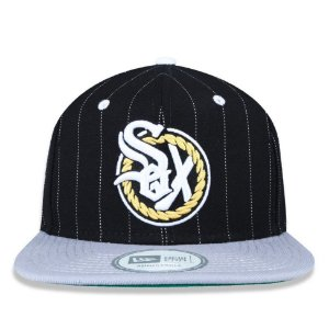 Boné New Era 9Fifty Chance The Rapper Sox Preto Snapback