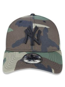 Boné New Era 9Forty New York Yankees Woodland Camo Snapback