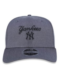 Boné New Era 39thirty New York Yankees Chumbo Aba Curva